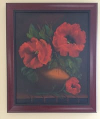 Beautiful floral oil painting Portsmouth