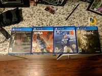 Ps4 games 15 each or all 4 for 40 Homeland, 92548