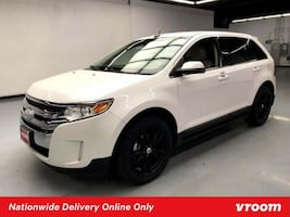 2013 Ford Edge White hatchback