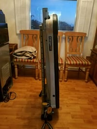 black and gray Craftsman radial arm saw Hollywood
