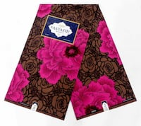 black and red floral textile Morrow, 30260