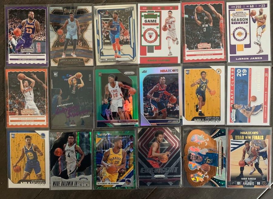 Photo Basketball Card Lot - Lebron James, Rookies, #d Parallels and More!