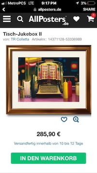 Framed LITHOGRAPH ARTWORK  Las Vegas, 89156