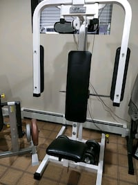 Chest fly machine, Plate Loaded Surrey, V3S 3J8