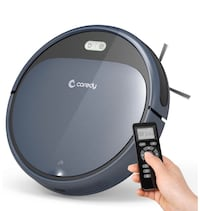 Robot Vacuum Cleaner, 1400Pa Super-Strong Suction, Ultra Slim, Automat
