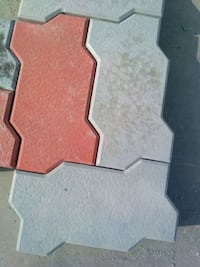 two grey and red zigzag paver block 80mm Bengaluru, 560100