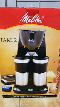 Dual travle mug coffee maker