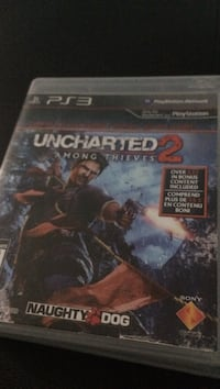 Sony PS3 Uncharted 3 game case Montréal, H3S 1V4