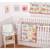 baby's white wooden crib Longueuil, J4K 1A4