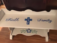 Custom Bench! Refinished & Decorated Semmes, 36575