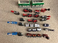 Lot of Geotrax Trains Engines Buffalo, 14203