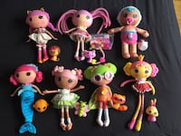 Lot of Lalaloopsy big 60$ or 10$ each