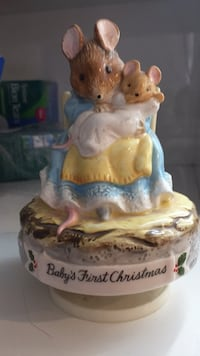 "Beatrix Potter ""Babys First Christmas"" musical figurine Hamilton, L8J 2N9"