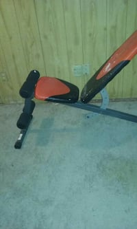 black and red incline bench press Fort Wayne, 46806