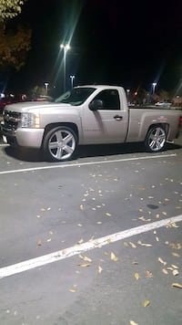 silver Chevrolet Silverado single cab pickup truck 2405 mi
