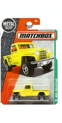 Matchbox Jeep Willys 4x4 (yellow) Oklahoma City