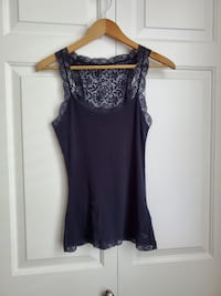 Abercrombie & Fitch floral lace tank top