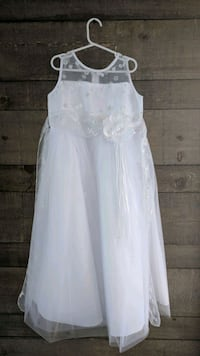 Girls first communion dress size 8 Mississauga, L5N 3G9