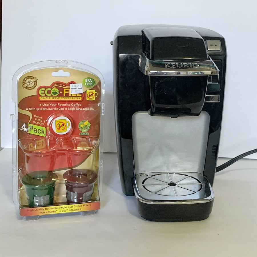 Keurig K15 Coffee Maker with Reusable Pods