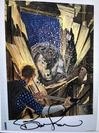 Cycle of the Warewolf Art Print signed by Bernie Wrightson BUFORD