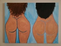 Diverse  Women's Booty Painting