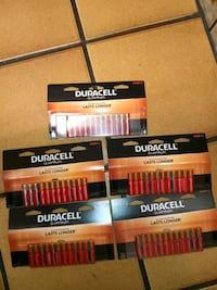 5 Duracell 'QUANTUM' AAA 12-packs Beaverton, 97006