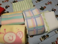6 Baby blankets  $10.00 each blanket  Knoxville