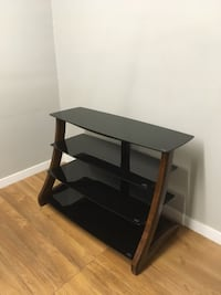 black wooden 3-layer TV stand Abbotsford, V2T 2H4