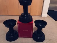 3 brand new pottery barn pillar candle holders Chicago, 60616