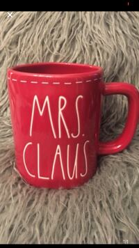 Rae Dunn MRS CLAUS mug red Fort Erie, L2A 2N2