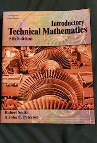 Introductory Technical Mathematics 5th Edition Toronto, M2N 5M9