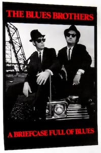 THE BLUES BROTHERS POSTER BELUSHI Toronto