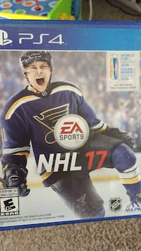 NHL 17 PS4 game case Greater Napanee, K7R 3A4