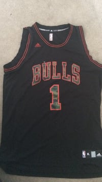 black and red Chicago Bulls 23 jersey shirt Albany, 12206