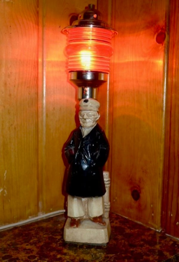 My Classic Vintage 70's Classic Fisherman Captain Lamp 501e0ac7-bba8-4885-9682-316124f58eae
