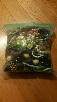 Random Bag of Beaded Jewelry