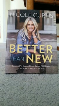 """Nicole Curtis book """"Better Than New"""""""
