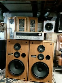 brown and black stereo component Dublin, 43017