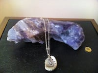 Mermaid/Shell pendant on 19 inch chain