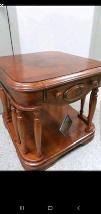 Brand New Solid Wood End Table
