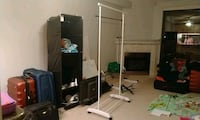 clothes and shoe stand