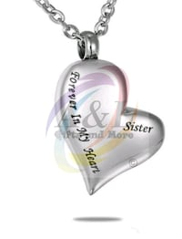 Cremation Necklace-Sister or Brother London, N5W 3P3