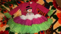 toddler's red and white dress Portales, 88130