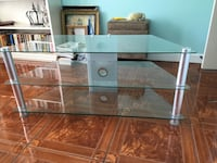 3-tier glass tv stand Mobile, 36695