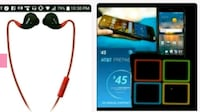 black and red bluetooth earpiece Louisville, 40208