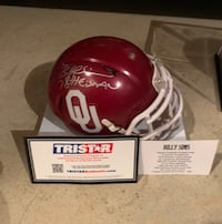 Billy Sims autographed mini helmet  Winchester, 22601