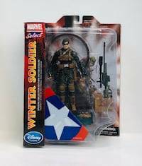 DIAMOND SELECT TOYS Marvel Select Winter Soldier Exclusive Vancouver