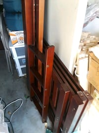 Cherrywood twin over twin bunk beds. No mattresses Citrus Heights, 95610