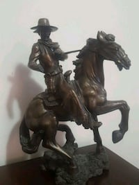 cowboy riding horse ceramic figurine Richmond Hill, L4E 0S7