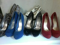 high heels and wedding shoes